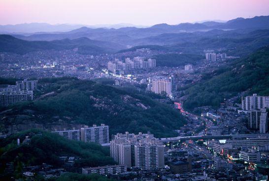 여행> 동생과 함께했던 북한산행... 961203